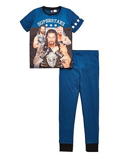 wwe-boys-short-sleeve-pyjamas