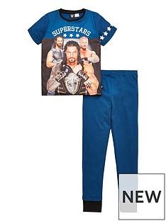 wwe-boys-short-sleeve-pyjamas