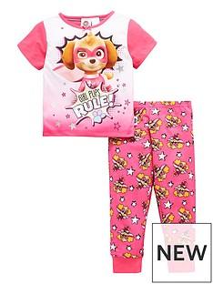 paw-patrol-girls-short-sleeve-pyjamas
