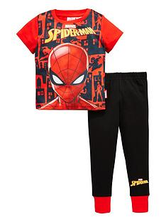 spiderman-boys-short-sleeve-pyjamas
