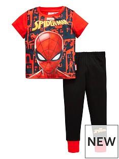 spiderman-boys-short-sleeve-pyjamas