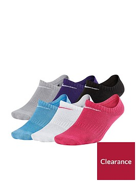 nike-nike-older-girls-pk-6-coloured-no-show-socks