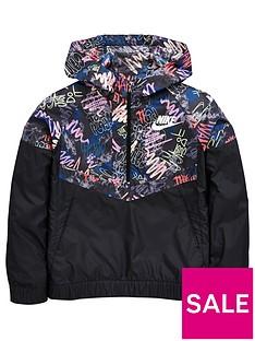 nike-nike-older-girl-scribble-print-windrunner-jacket