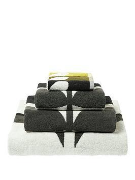 orla-kiely-house-large-stem-towel-range-dark-duck-egg