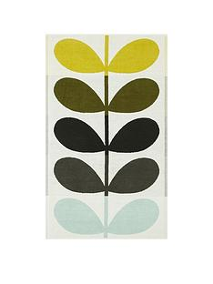 orla-kiely-house-large-stem-pack-of-2-bath-towels-ndash-dark-duck-egg