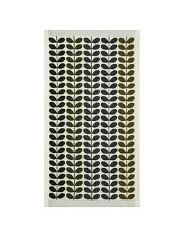 Photo of Orla kiely house multi stem towel range - moss - bath sheet