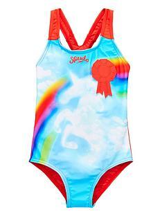 speedo-speedo-younger-girls-unicorn-swimsuit