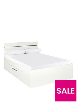 prague-gloss-storage-bed-frame-with-mattress-options-buy-and-save