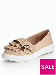 v-by-very-dolly-frill-skate-shoe-nude