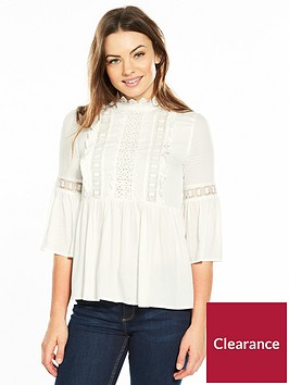river-island-frill-blouse