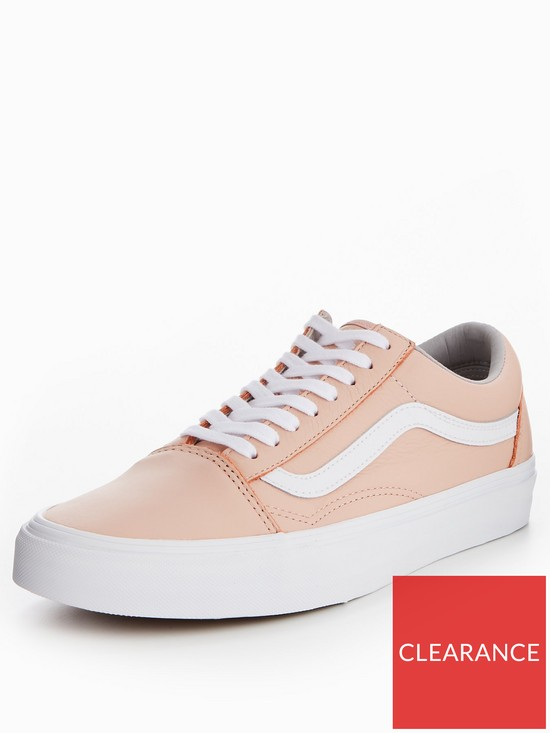 169427f002 Vans Old Skool Leather - Pink