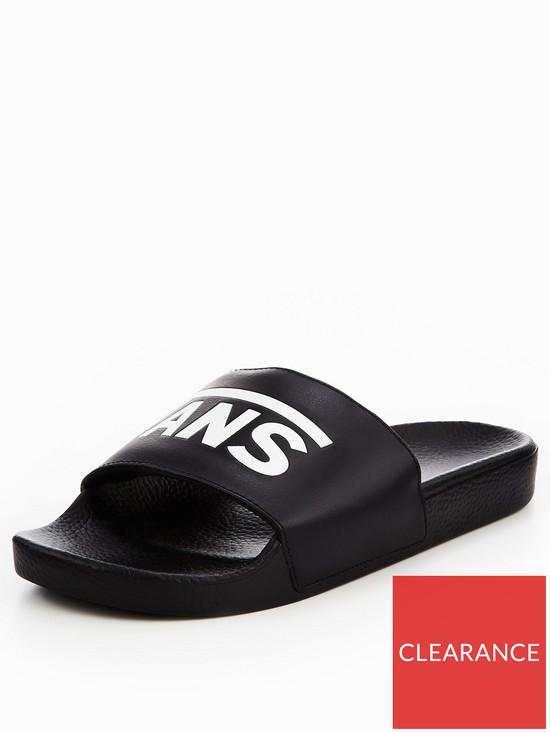 Vans MN Slide-On Sliders - Black  13474e6e4