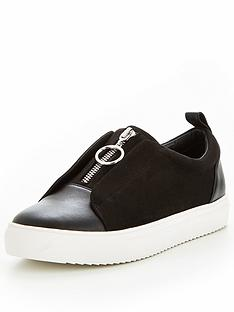 v-by-very-fergie-zip-front-plimsoll-black