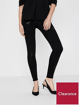 river-island-black-sequin-jeans