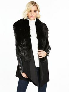 river-island-river-island-faux-fur-suedette-fallaway-coat