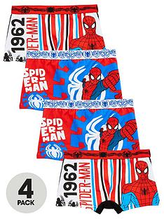 spiderman-boys-pack-of-4-trunks