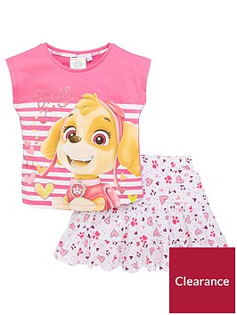 paw-patrol-girls-skye-top-and-skirt-set