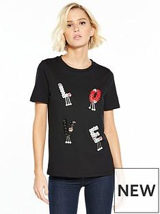 river-island-love-embellished-t-shirt