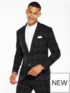only-sons-only-and-sons-papa-check-blazer