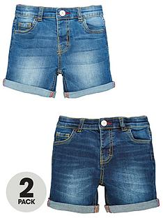 mini-v-by-very-boys-2-pack-denim-short