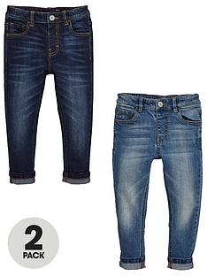 mini-v-by-very-boys-2-pack-slim-jeans