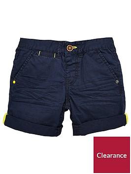 mini-v-by-very-boys-roll-up-shorts-navy