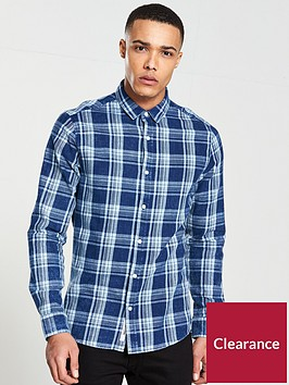only-sons-nesbit-long-sleeve-checked-shirt
