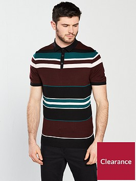 river-island-muscle-fit-stripe-polo