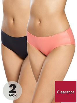 dorina-2-pack-sabrina-supersoft-bonded-hipster-blackcoral
