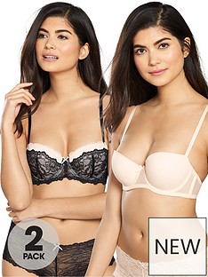 dorina-2-pack-layla-balconette-bra-blacklight-pink