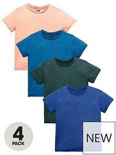mini-v-by-very-boys-4-pack-roll-edge-tees