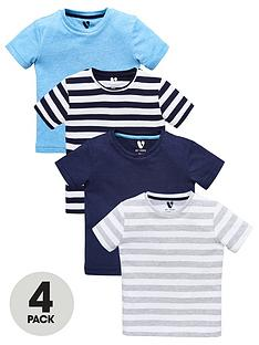mini-v-by-very-boys-4-pack-stripe-tees