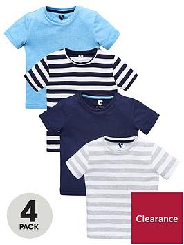 mini-v-by-very-boys-4-pack-stripe-tees