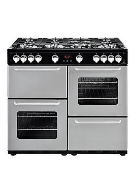 new-world-nw-100g-100cm-gas-range-cooker-with-connection--nbspsilvernbsp