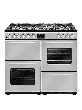 new-world-new-world-nw-100dft-100cm-dual-fuel-range-cooker-silver