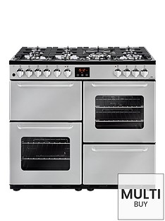 new-world-nw-100dft-100cm-dual-fuel-range-cooker-silver