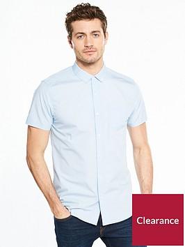 v-by-very-short-sleeve-poplin-shirt-blue