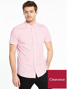 v-by-very-short-sleeve-poplin-shirt-pink