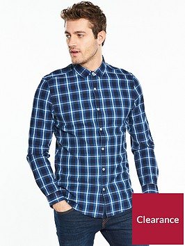 v-by-very-long-sleeve-check-shirt-indigonbsp