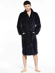 v-by-very-supersoft-navy-robe
