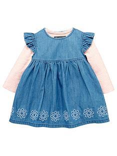 mini-v-by-very-baby-girls-denim-frill-dress-amp-body-set