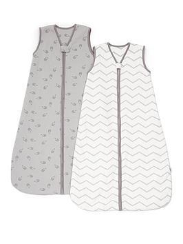 mamas-papas-mamas-amp-papas-dreampod-sleep-bag-25-tog-0-6m-pack-of-2-grey