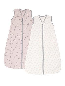 mamas-papas-mamas-amp-papas-dreampod-sleep-bag-25-tog-pack-of-2-pink