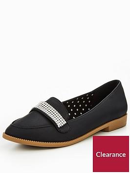 v-by-very-tessy-diamante-trim-loafer-black