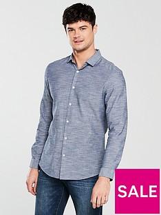 v-by-very-long-sleeve-horizonal-slub-shirt