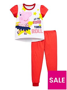 peppa-pig-girls-short-sleeve-pyjamas