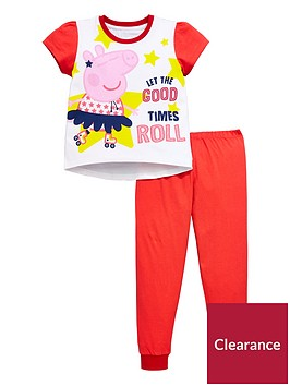 peppa-pig-girls-short-sleeve-pyjamas