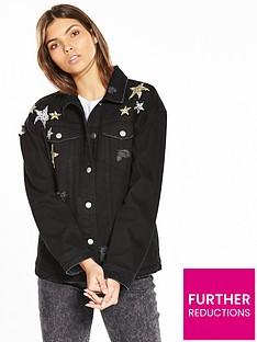 v-by-very-star-embellished-denim-jacket