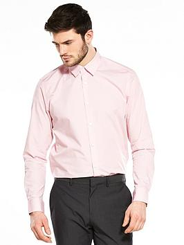 v-by-very-easy-to-iron-long-sleeve-tailored-fit-shirt-pinknbsp