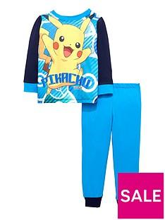 pokemon-boys-long-sleeve-pikachu-pyjamas